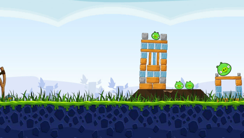 Game angrybirds